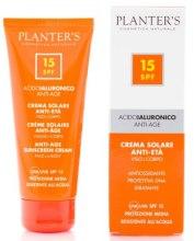 Духи, Парфюмерия, косметика Крем для лица и тела защитный от солнца с гиалуроновой кислотой - Planter's Hyaluronic Acid Sun Care SPF 15