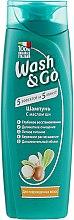 Духи, Парфюмерия, косметика Шампунь с маслом ши для поврежденных волос - Wash&Go