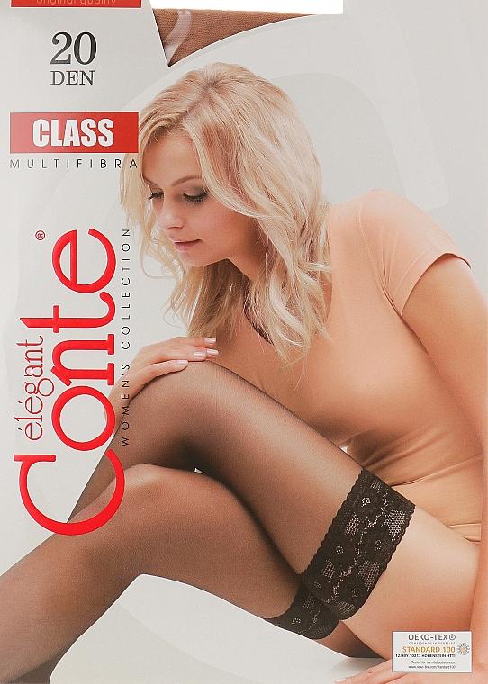 """Чулки для женщин """"Class"""" 20 den, natural - Conte"""