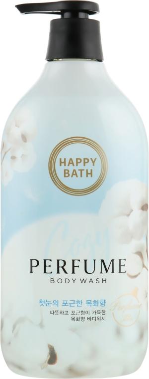 Парфюмированный гель для душа - Happy Bath Pure Cotton Flower