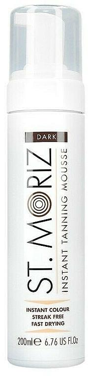 Мусс-автозагар для тела - St.Moriz Instant Tanning Mousse Dark