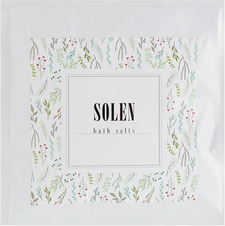 """Соль для ванн """"Хвоя"""" - Solen Needles Dead Sea Bath Salt"""