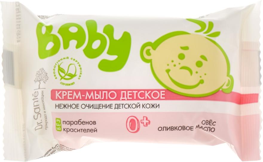 """Крем-мыло детское """"Овес и оливковое масло"""" - Dr. Sante Baby"""