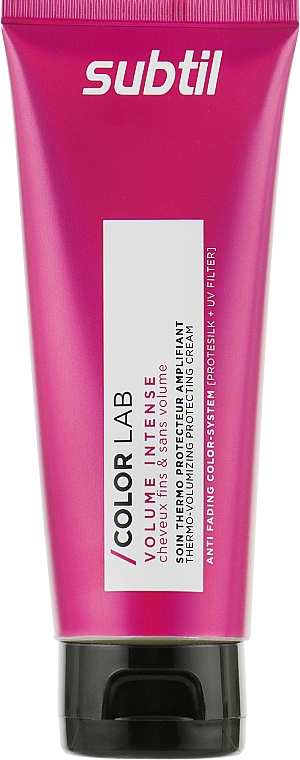 Крем для тонких волос - Laboratoire Ducastel Subtil Color Lab Volume Intense Thermo Cream