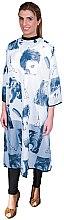 Духи, Парфюмерия, косметика Пеньюар для стрижки синий, 02504/75 - Eurostil