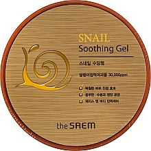 Духи, Парфюмерия, косметика Успокаивающий гель с улиточным экстрактом - The Saem Snail Soothing Gel