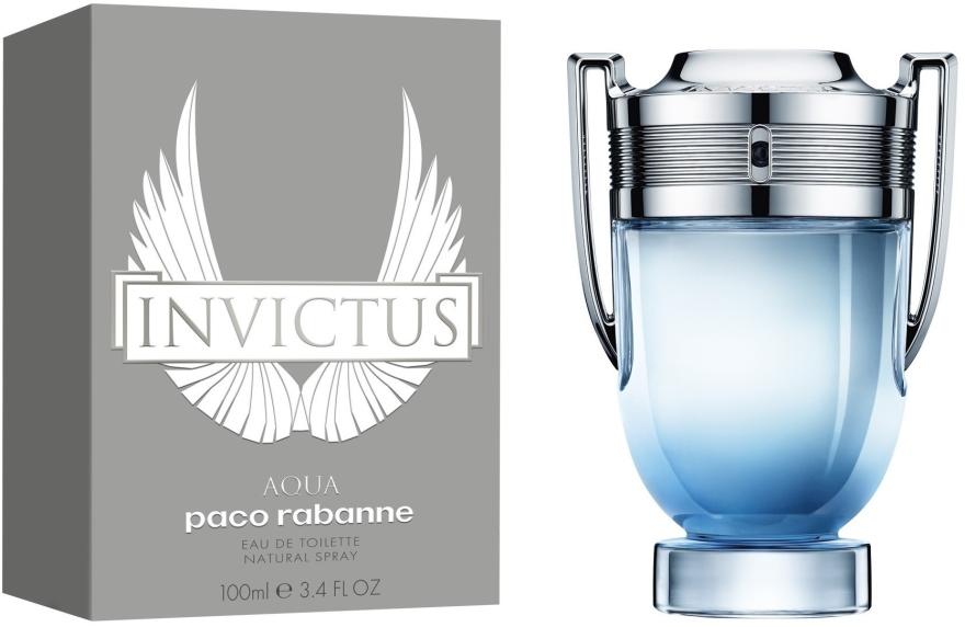 Paco Rabanne Invictus Aqua 2018 - Туалетная вода