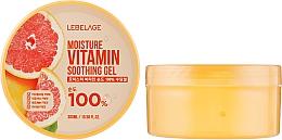 Духи, Парфюмерия, косметика Увлажняющий гель с грейпфрутом - Lebelage Moisture Vitamin 100% Soothing Gel