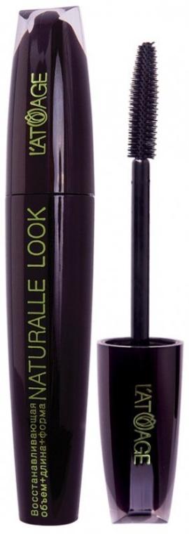 Тушь для ресниц восстанавливающая - Latuage Cosmetic Naturall Look