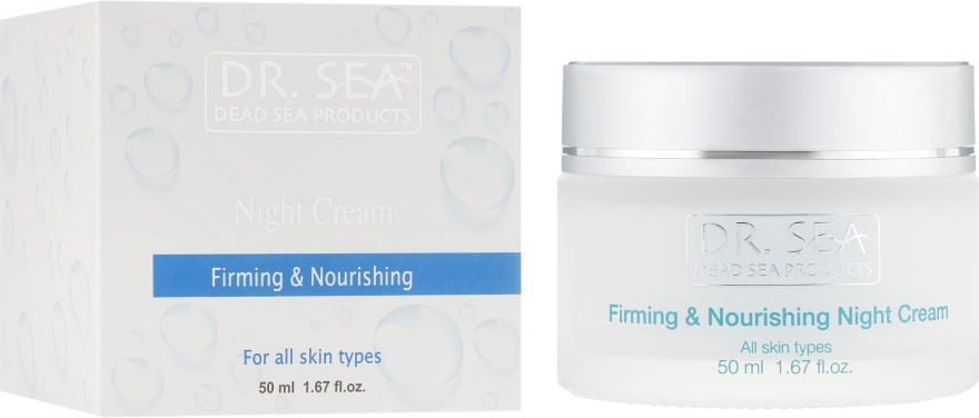 Укрепляющий и питательный ночной крем - Dr. Sea Firming & Nourishing Night Cream