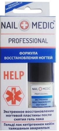 Средство для экстренного восстановления ногтевой пластины - Ines Cosmetics Nail Medic+ Professional