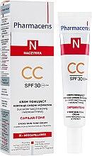 Крем для чувствительной кожи лица - Pharmaceris N Capilar-tone CC Cream SPF 30 — фото N1