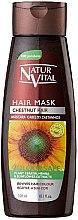 Духи, Парфюмерия, косметика Маска для сохранения цвета окрашенных волос - Natur Vital Coloursafe Henna Hair Mask Chestnut Hair