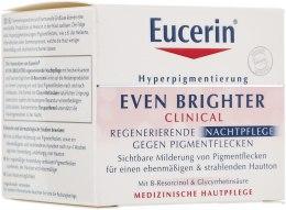 Духи, Парфюмерия, косметика Ночной крем для лица депигментирующий - Eucerin Even Brighter Pigment Reducing Night Cream