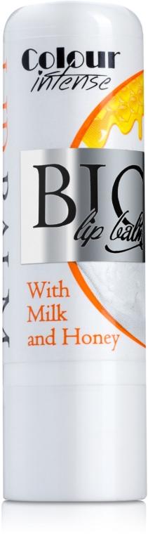 "Бальзам для губ ""Молоко и Мед"" - Colour Intense Bio Lip Balm with Milk and Honey"