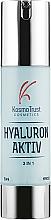 Духи, Парфюмерия, косметика Легкий питательный крем для лица с тремя видами гиалуроновой кислоты - KosmoTrust Cosmetics Hyaluron Aktiv 3 In 1