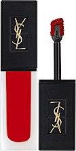 Духи, Парфюмерия, косметика Жидкая матовая стойкая помада для губ с бархатным эффектом - Yves Saint Laurent Tatouage Couture Velvet Cream