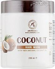 """Духи, Парфюмерия, косметика Маска для волос """"Кокос"""" - Ароматика Coconut Hair Mask"""