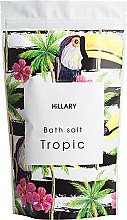 Духи, Парфюмерия, косметика Соль для ванн - Hillary Bath Salt Tropic
