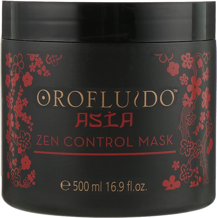 Маска для мягкости волос - Orofluido Asia Zen Control Mask