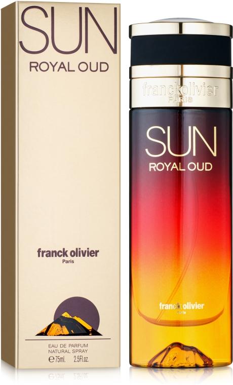 Franck Olivier Sun Royal Oud - Парфюмированная вода
