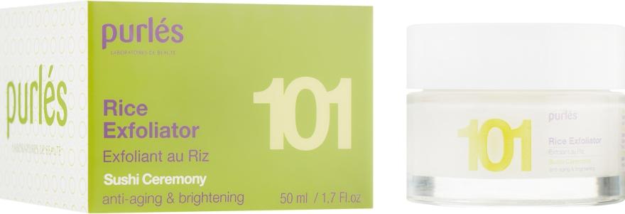 Рисовый эксфолиант для лица - Purles 101 Rice Exfoliator