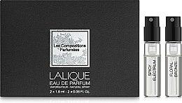 Духи, Парфюмерия, косметика Lalique Les Compositions Parfumees - Набор (2 x 1.8 ml)