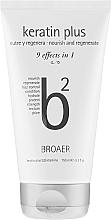 Духи, Парфюмерия, косметика Шампунь для волос - Broaer B2 Keratin Plus Nourish And Regenerate Shampoo