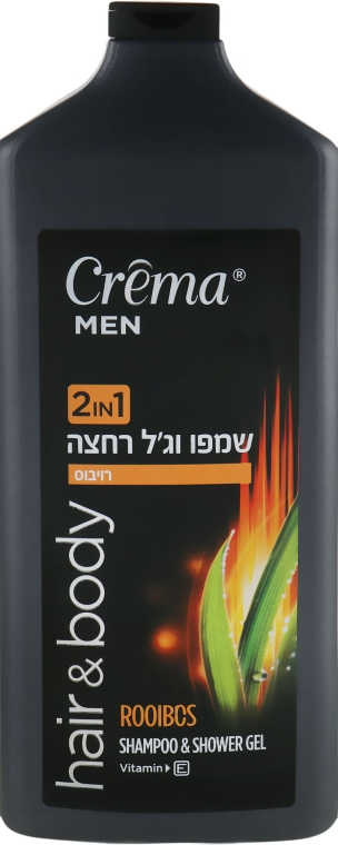 "Шампунь и гель для душа 2в1 ""Ройбос"" - Crema Men Shampoo and Shower Gel Rooibos"