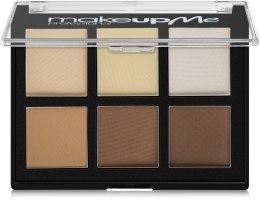 Парфумерія, косметика Компактний набір коректорів 6 кольорів, Р6 - Make Up Me