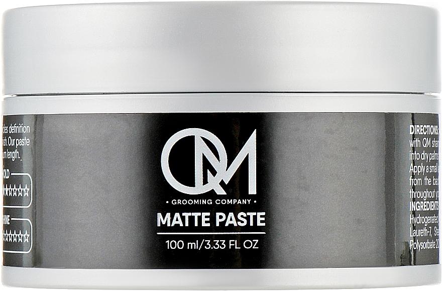 Матовая паста для укладки волос - QM Matte Paste