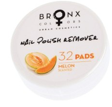 Духи, Парфюмерия, косметика Салфетки для снятия лака - Bronx Colors Nail Polish Remover Pads Melon