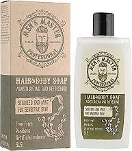 """Духи, Парфюмерия, косметика Бодрящее мыло для тела и волос """"Водоросли и мята"""" - Men's Master"""