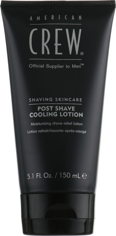 Охлаждающий лосьон после бритья - American Crew Official Supplier to Men Post Shave Cooling Lotion