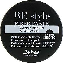 Духи, Парфюмерия, косметика Паста волокнистая моделирующая для укладки волос - Be Hair Be Style Fiber Paste with Caviar, Keratin and Collagen