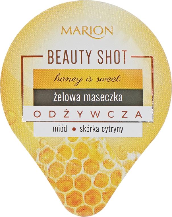 Питательная гелевая маска для лица - Marion Beauty Shot Honey Is Sweet Mask