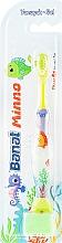 Духи, Парфюмерия, косметика Детская зубная щетка, зеленая, мягкая - Banat Minno Toothbrush