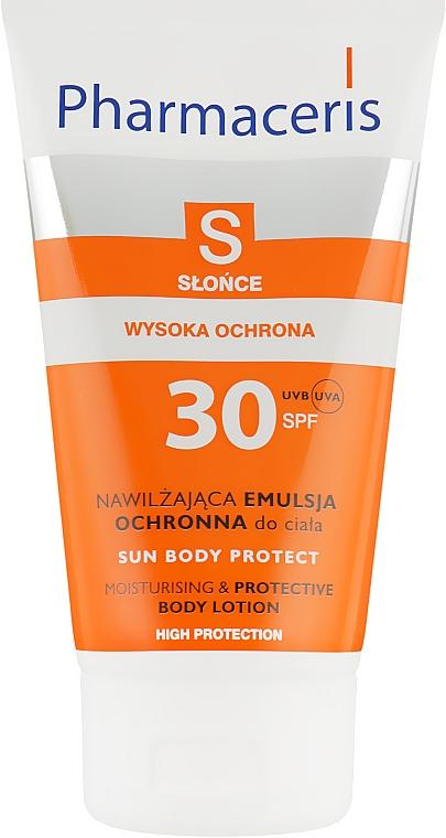 Увлажняющая солнцезащитная эмульсия для тела - Pharmaceris S Sun Body Protective Sun Lotion for the Body SPF 30