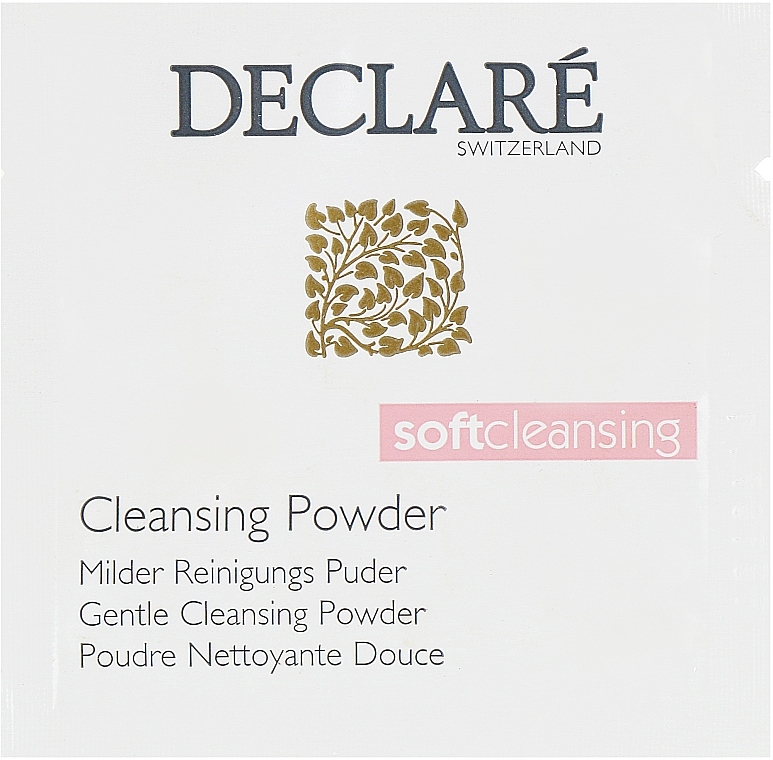 Мягкая очищающая пудра - Declare Gentle Cleansing Powder (пробник) — фото N1