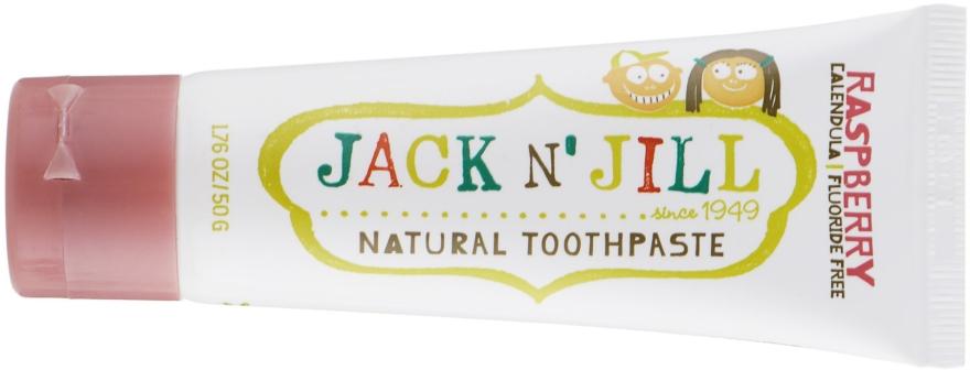 Детская зубная паста с календулой, со вкусом малины - Jack N' Jill