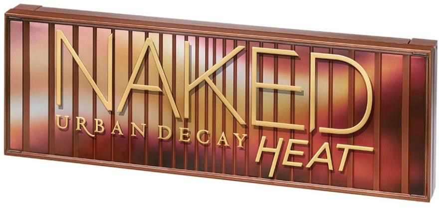 Палетка теней для век, 12 оттенков - Urban Decay Naked Heat Eyeshadow Palette