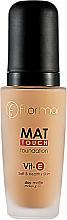 Духи, Парфюмерия, косметика Тональный крем матирующий - Flormar Matt Touch Foundation