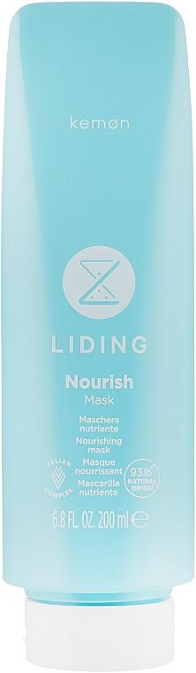 Питательная маска для волос - Kemon Liding Nourish Mask