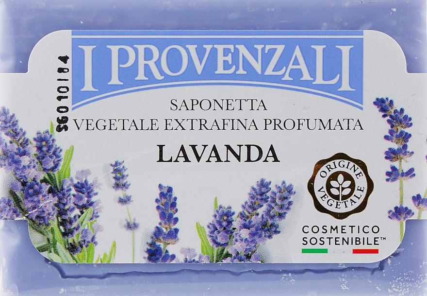 """Мыло твердое растительное """"Лаванда"""" - I Provenzali Vegetale"""