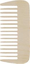 Духи, Парфюмерия, косметика Гребень для волос, деревянный, маленький - Globos Professional Line