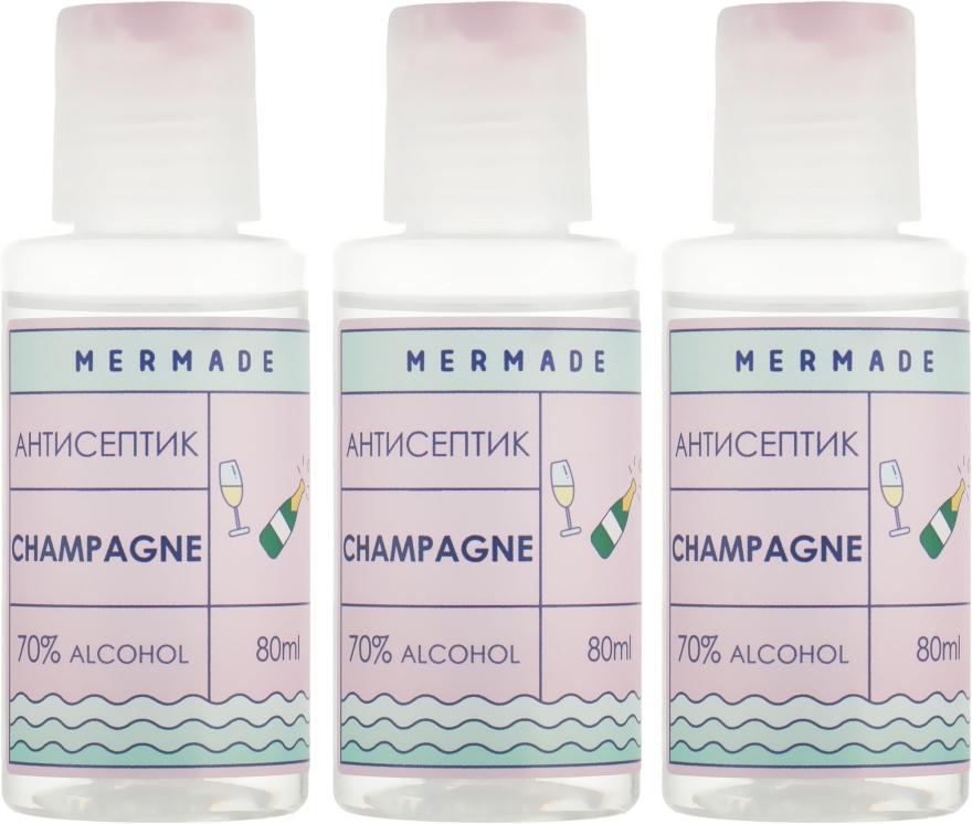 Набор - Mermade Champagne (hand/gel/3x80ml)