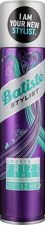 Выпрямляющий спрей для волос - Batiste Dry Styling Smooth It Frizz Tamer