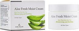 Духи, Парфюмерия, косметика Увлажняющий крем для лица с экстрактом алоэ - The Skin House Aloe Fresh Moist Cream
