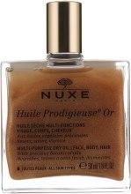 Духи, Парфюмерия, косметика Чудесное сухое золотое масло - Nuxe Huile Prodigieuse Or Multi-Purpose Dry Oil