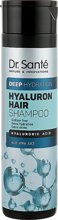 Шампунь для глубокого увлажнения волос - Dr. Sante Hyaluron Hair Deep Hydration Shampoo